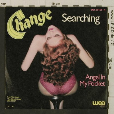 Change: Searching/Angel In My Pocket, WEA(79156 N), D, 1980 - 7inch - T3441 - 3,00 Euro