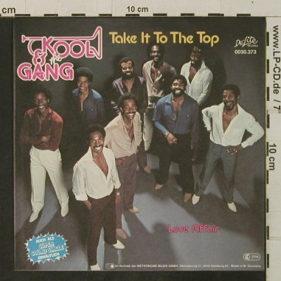 Kool & The Gang: Take It To The Top/Love Affair, De-Lite(0030.373), D, 1981 - 7inch - T3445 - 3,00 Euro