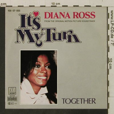 Ross,Diana: It's My Turn / Together, Motown(100-07-055), D, 1981 - 7inch - T3450 - 3,00 Euro