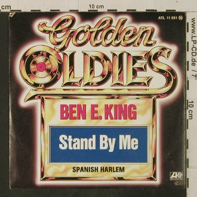 King,Ben E.: Stand By Me/Spanish Harlem, Ri, Atlantic(11 551), D, 1981 - 7inch - T3457 - 2,50 Euro