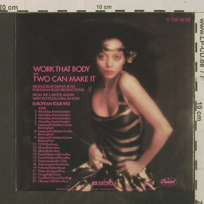 Ross,Diana: Work That Body / Two Can Make It, Capitol(006-86 516), D, 1982 - 7inch - T3553 - 4,00 Euro