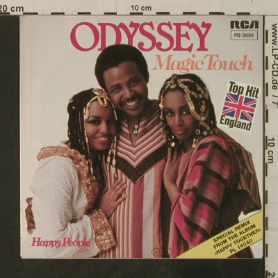 Odyssey: Magic Touch / Happy People, RCA(PB 9898), D, 1982 - 7inch - T3570 - 2,50 Euro