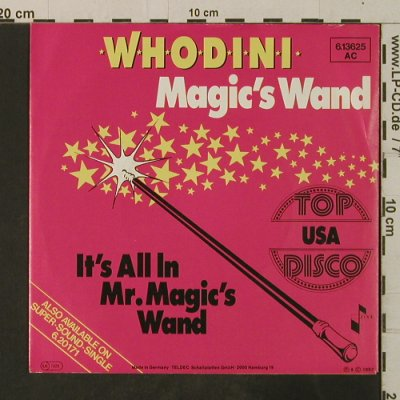 Whodini: Magic's Wand / It's All In Mr.Magic, Jive(6.13625 AC), D, 1983 - 7inch - T3612 - 2,50 Euro
