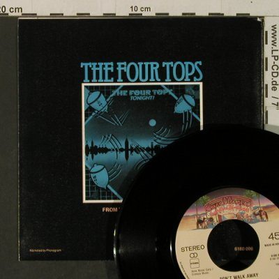 Four Tops: Don't walk away, Casablanca(6180 096), D, 1981 - 7inch - T3631 - 2,50 Euro