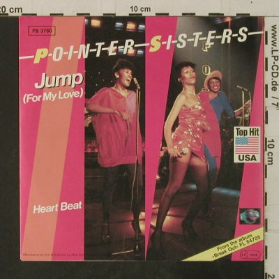 Pointer Sisters: Jump(For My Love) / Heart Beat, Planet(FB 3780), D, 1982 - 7inch - T3654 - 2,50 Euro