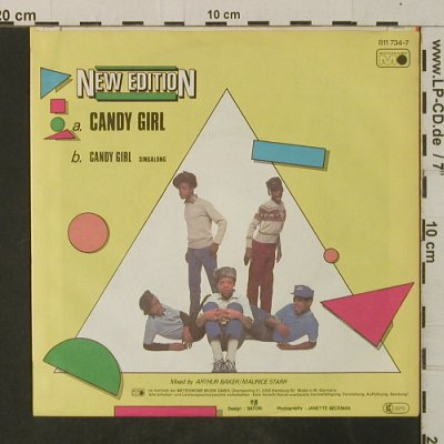 New Edition: Candy Girl*2, Metronome(811 734-7), D, 1983 - 7inch - T3711 - 2,00 Euro