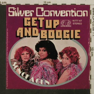 Silver Convention: Get up and Boogie, Jupiter(16 777 AT), D, 1976 - 7inch - T3794 - 2,50 Euro