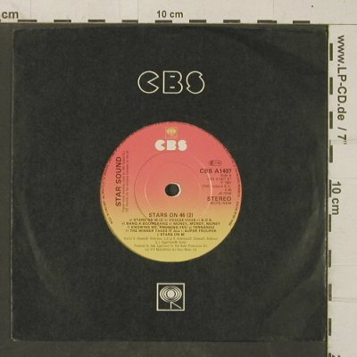 Star Sound: Stars on 45(2) / Stars Get Ready, CBS(CBS A 1407), UK, 1981 - 7inch - T4043 - 5,00 Euro