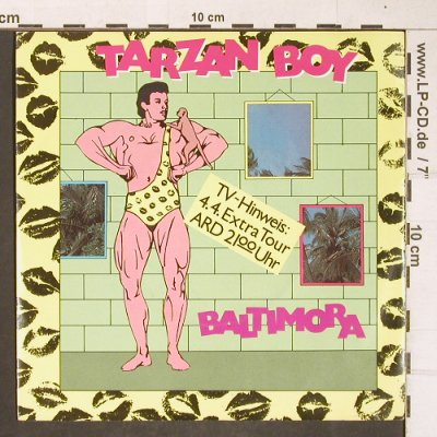 Baltimora: Tarzan Boy / Disc Jockey Version, EMI(11 8691 7), D, 1985 - 7inch - T4274 - 1,50 Euro