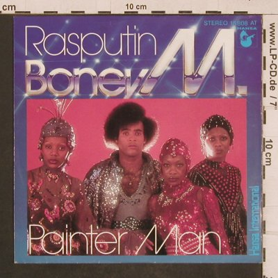 Boney M.: Rasputin/Painter Man, Hansa(15 808 AT), D, 1978 - 7inch - T4572 - 3,00 Euro