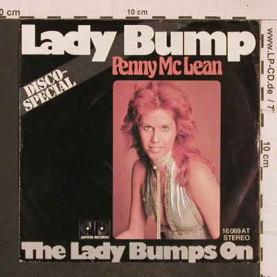 McLean,Penny: Lady Bump, Jupiter(16 069 AT), D,  - 7inch - T4641 - 2,50 Euro