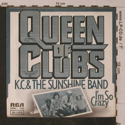 KC & The Sunshine Band: Queen Of Clubs, RCA(26.11376), D, 1975 - 7inch - T4778 - 3,00 Euro