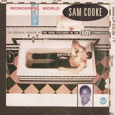Cooke,Sam: Wonderful World (Levis501), RCA(PB 49871), D, 1986 - 7inch - T4938 - 2,00 Euro