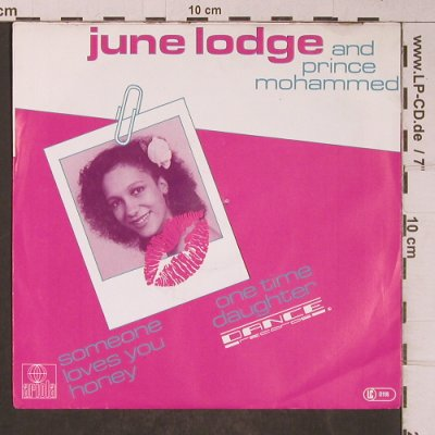 Lodge,June & Prince Mohammed: Someone Loves You Honey/One Time Da, Ariola(104 394-100), D, 1982 - 7inch - T5185 - 2,50 Euro