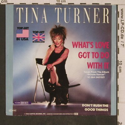 Turner,Tina: What's Love Got To Do With It, Capitol(2001917), D, 1984 - 7inch - T5359 - 3,00 Euro