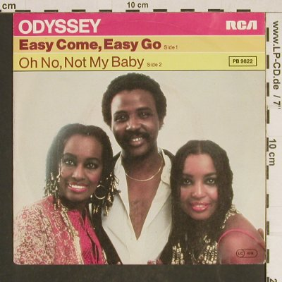 Odyssey: Easy Come, Easy Go, RCA(PB 9822), D, 1977 - 7inch - T551 - 2,00 Euro