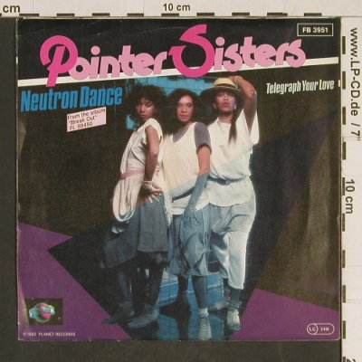 Pointer Sisters: Neutron Dance, Planet(FB 3951), D, 1983 - 7inch - T559 - 2,00 Euro