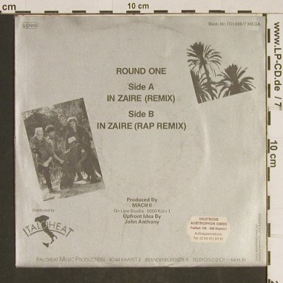Round One: In Zaire, remix, Italoheat(ITH 006/7 MEGA), D, 1985 - 7inch - T563 - 3,00 Euro
