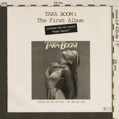 Taka Boom: Red Hot / Trouble Waters, Ariola(100 907-100), D, 1979 - 7inch - T586 - 3,00 Euro