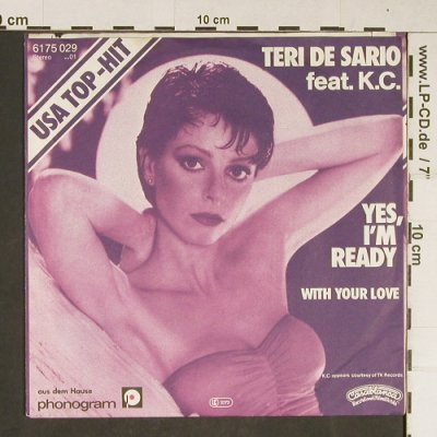 De Sario,Teri & K.C.: Yes, I'm Ready, Phonogram(6175 029), D, 1979 - 7inch - T802 - 2,00 Euro