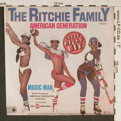 Ritchie Family: American Generation, Metronome(0030.131), D, 1978 - 7inch - T941 - 2,50 Euro