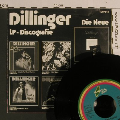 Dillinger: Chinese Soultrain / Flat Foot Hustl, Jamaica Sound(1007011), D, 1980 - 7inch - S8229 - 4,00 Euro