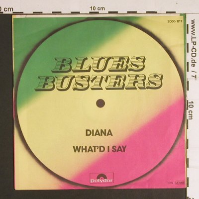 Blues Busters: Diana / What'd I Say, Polydor(2056 817), D,  - 7inch - S8738 - 3,00 Euro