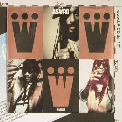 Aswad   feat. Sweetie Irie: Smile, Mango(113 787), D, Facts, 1990 - 7inch - S9030 - 3,00 Euro