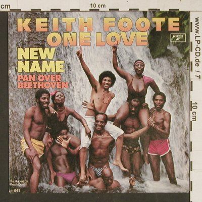 Foote,Keith One Love: New Name / Pan over Beethoven, Pinpall(6.12512), D, 1979 - 7inch - S9122 - 2,50 Euro