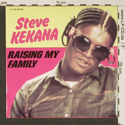Kekana,Steve: Raising My Family / Working Man, EMI(1A 006-406381), NL, 1980 - 7inch - S9152 - 2,50 Euro