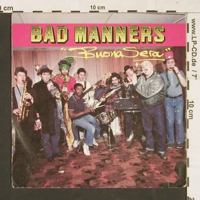 Bad Manners: Buena Sera, Magnet(6.13327 AC), UK, 1981 - 7inch - S9809 - 3,00 Euro