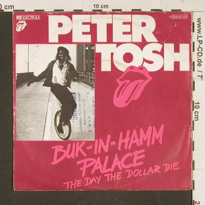 Tosh,Peter: Buk-In-Hamm Palace, m-/vg+, stoc, RS(Posemuckel Stempel)(006-63 001), D, 1979 - 7inch - T110 - 3,00 Euro