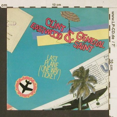 Eastwood,Clint & General Sain: Last Plane/Combination, MCA(259 257-7), D, 1984 - 7inch - T114 - 3,00 Euro