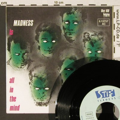Madness: Tomorrow's Just Another Day/Madness, Stiff  (BUY169)(6.13757 AC), D, 1983 - 7inch - T143 - 3,00 Euro