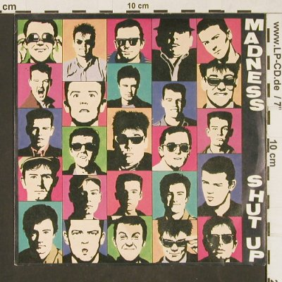 Madness: Shut Up / A Town with no name, Stiff (BUY 126)(6.13260 AC), D, 1981 - 7inch - T144 - 3,00 Euro
