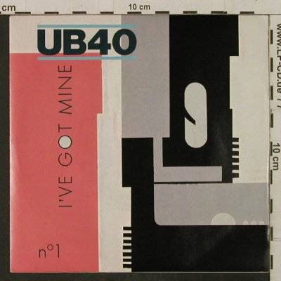 UB 40: I've Got Mine / Dubmobile, DEP Int.(DEP 6), UK, 1983 - 7inch - T2297 - 3,00 Euro