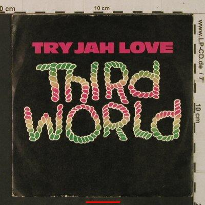 Third World: Try Jah Love / Inna Time Like This, CBS(A 2063), UK, m-/vg+, 1982 - 7inch - T2472 - 2,50 Euro