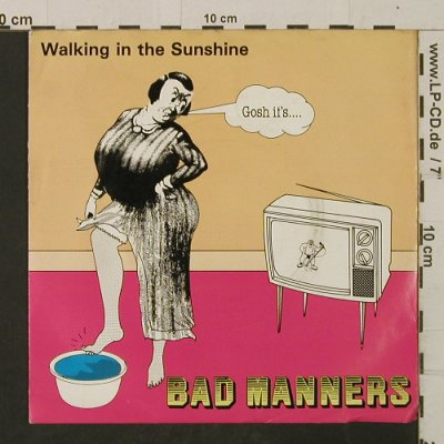 Bad Manners: Walking InTheSunshine/EndOfTheWorld, Magnet(MAG 197), UK, 1981 - 7inch - T2519 - 4,00 Euro