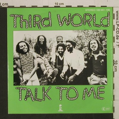Third World: Talk To Me Pts. 1+2, Island(100 661), D, 1979 - 7inch - T2923 - 5,00 Euro
