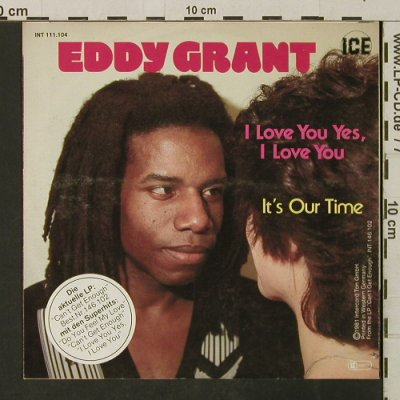 Grant,Eddy: I Love You Yes I Love You, ICE(111.104), D, 1981 - 7inch - T3182 - 3,00 Euro