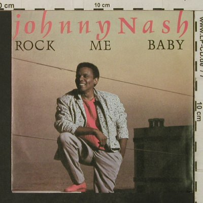 "Nash,Johnny: Rock Me Baby / Love Theme From""RMB"", Metronome(883 734-7), D, 1985 - 7inch - T3193 - 2,50 Euro"