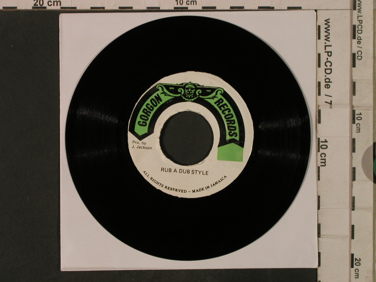 Jackson,J.: Killing and Killing/Rub a Dub Style, Gordon Records(DSR 9433/34), Jamaica,vg,  - 7inch - T3413 - 5,00 Euro