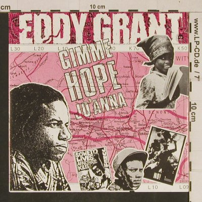 Grant,Eddy: Gimme Hope Jo'Anna, Parlophone(20 2512 7), NL, 1988 - 7inch - T618 - 2,50 Euro
