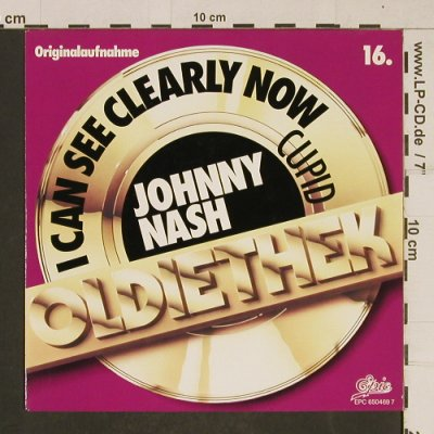 Nash,Johnny: I Can See Clearly Now / Cupid, Epic(650 469 7), NL, 1987 - 7inch - T619 - 2,00 Euro
