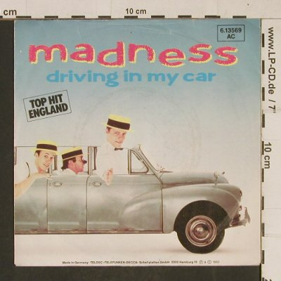 Madness: Driving In My Car, m-/vg+, Stiff (BUY153)(6.13569 AC), D, 1982 - 7inch - T621 - 2,00 Euro