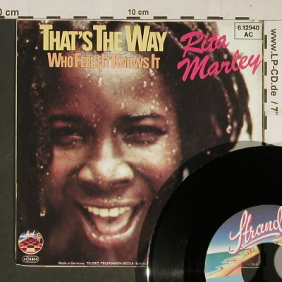 Marley,Rita: That's the Way, Strand(6.12940 AC), D, 1980 - 7inch - T738 - 2,00 Euro
