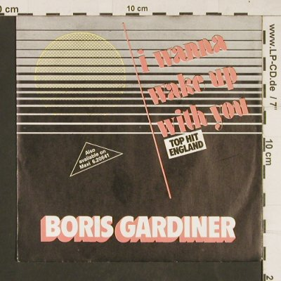 Gardiner,Boris: I Wanna Wake Up With You, Chic(6.14670 AC), D, 1986 - 7inch - T8 - 2,50 Euro