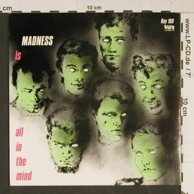 Madness: Madness(is All In The Mind), Stiff, BUY 169(Buy 169), UK, 1983 - 7inch - T978 - 4,00 Euro