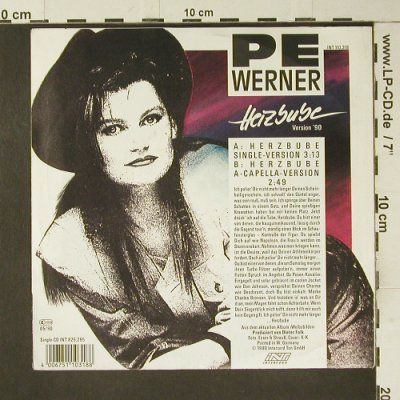 Pe Werner: Herzbube, Intercord(INT 110.318), D, 1990 - 7inch - S7476 - 3,00 Euro