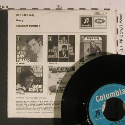 Bonney,Graham: Hey,Little Lady / Nancy, vg+/m-, Columbia(C 006-04 187), D,  - 7inch - S8193 - 3,00 Euro